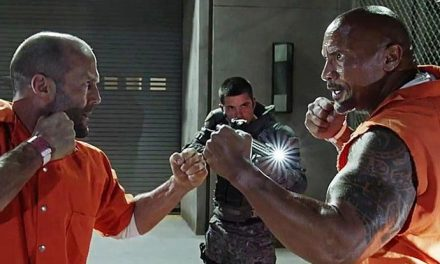 The Rock is armless in Hobbs & Shaw