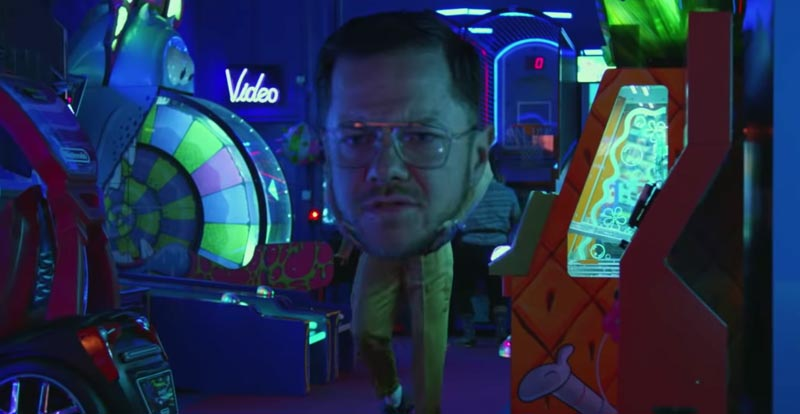 Imagine Dragons have big heads in 'Zero' video