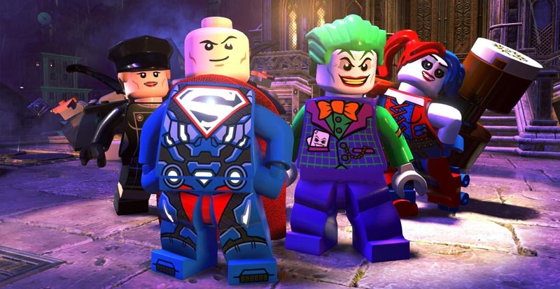 LEGO DC Super-Villains let loose!