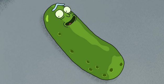 Watch Rick and Morty's Pickle Rick lose his $#!*