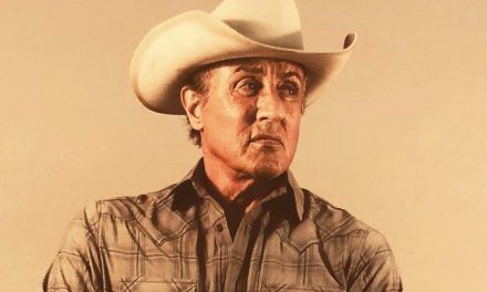 Rambo does it cowboy style!