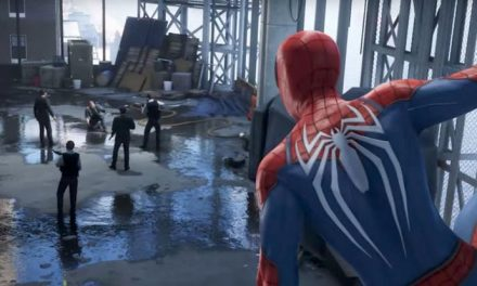 Spider-Man can jump puddles!