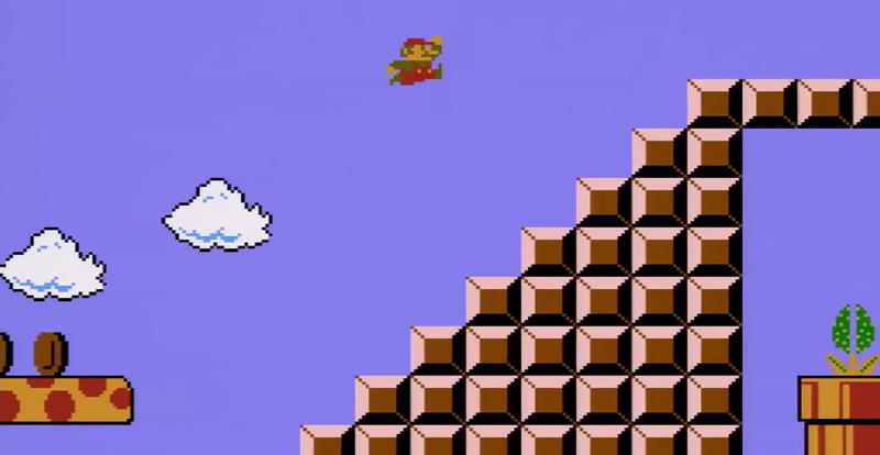 Watch somebody smash Super Mario Bros.