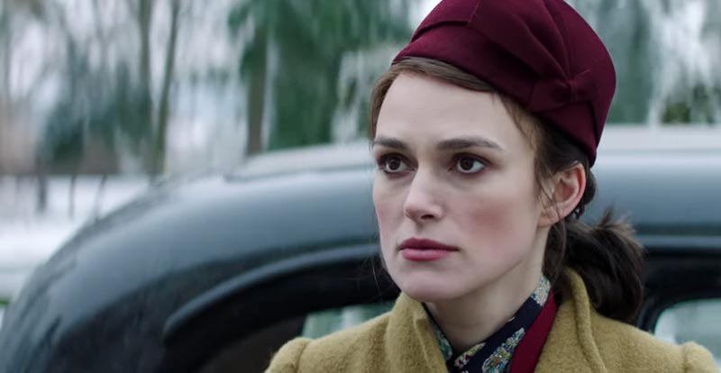 Keira Knightley is going back in time again