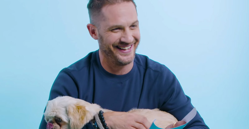 Tom Hardy goes to the dogs!