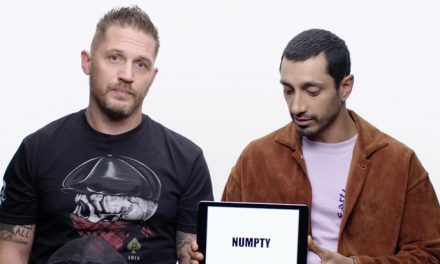 Venom's Tom Hardy and Riz Ahmed teach British slang