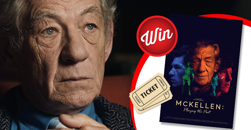 Win tickets to see 'McKellen: Playing the Part'