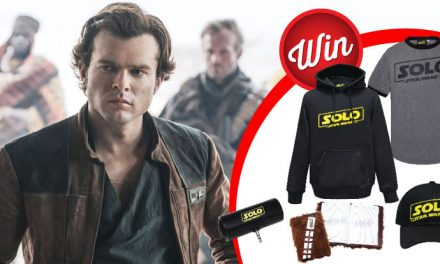 Five 'Solo: A Star Wars Story' prize-packs