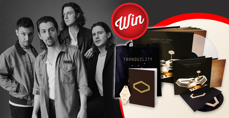 Win a huge Arctic Monkeys prize-pack