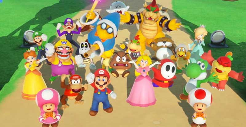 Super Mario Party launch trailer