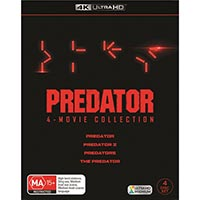 4K December 2018 - Predator: 4 Movie Collection