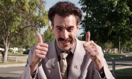 """Borat returns to """"tampon"""" with US election"""