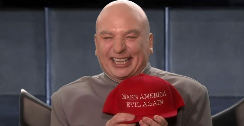 Dr Evil returns – to run for US Congress?!