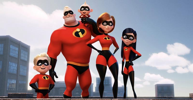 Pixar - Incredibles 2