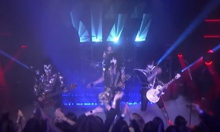 Get a taste of Kiss' 'Love Gun' live