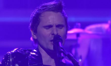 Muse get brassy on live 'Pressure' performance