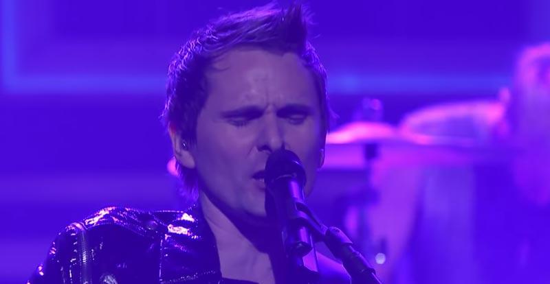 Muse get brassy on live 'Pressure' performance