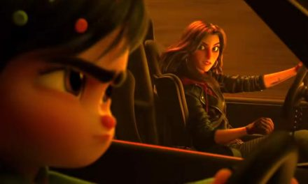 Wonder Woman fast and furious in Ralph Breaks the Internet!