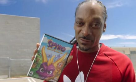 Spyro in Snoop Dogg's house