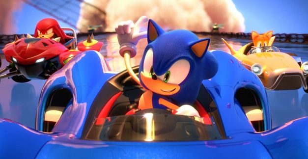 Latest look at Team Sonic Racing