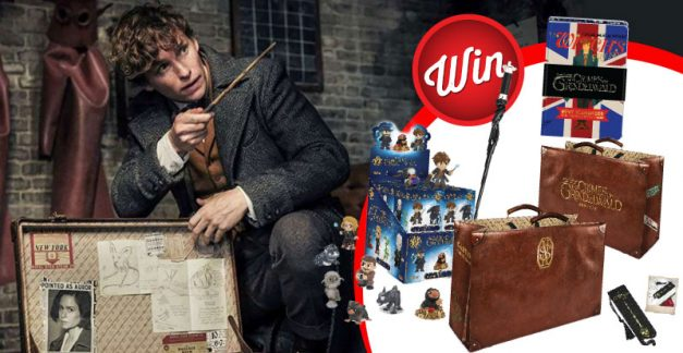 Win: Five 'Fantastic Beasts: The Crimes of Grindelwald prize-packs