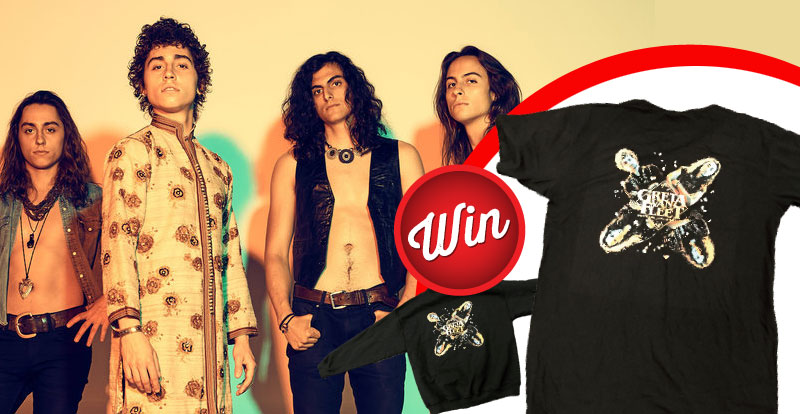 Greta Van Fleet band t-shirts