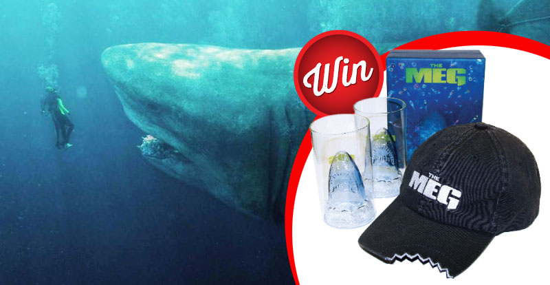 Win six The Meg merch packs!