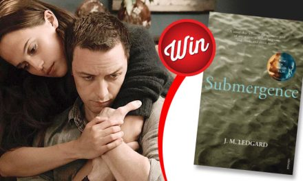 Score a copy of 'Submergence', the book