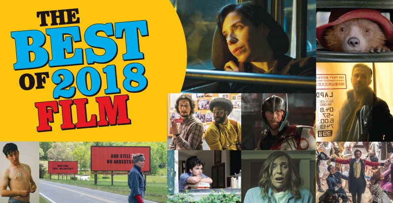 The best of 2018 in film