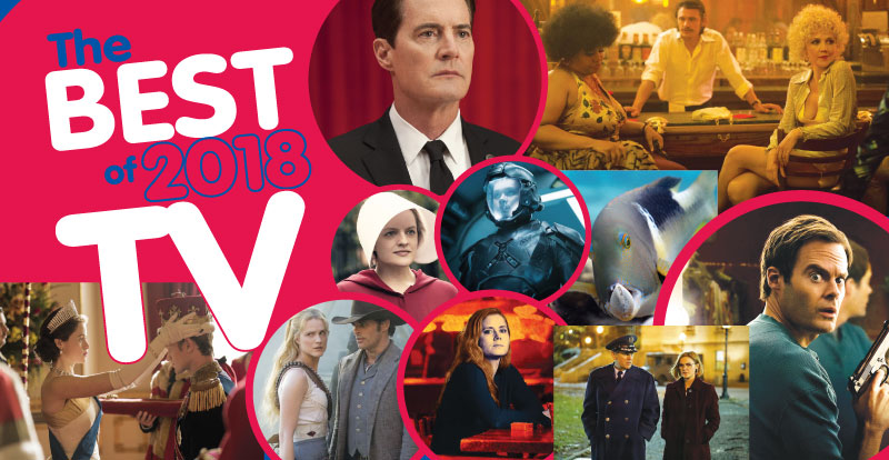 The best of 2018 in TV
