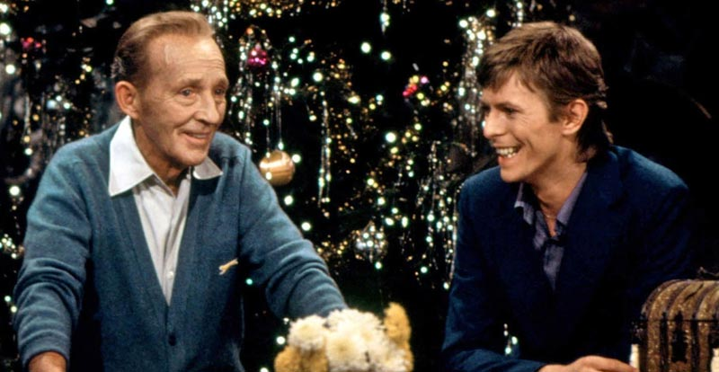 Relive the magic of Bowie and Bing's Christmas duet
