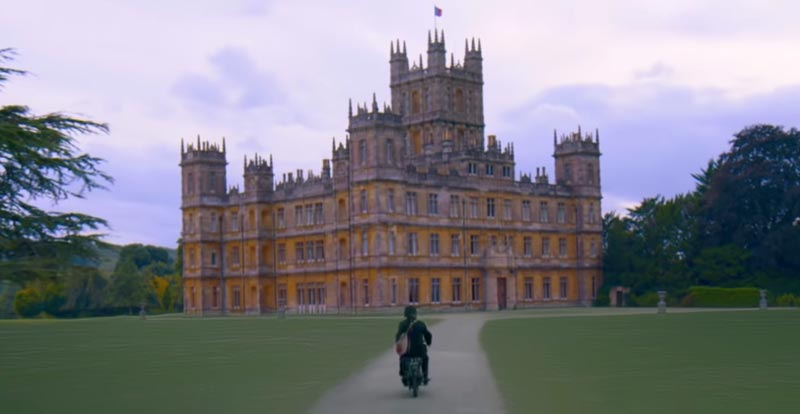 Downton Abbey goes widescreen