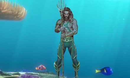 Fishy movie mashup – Finding Aquaman