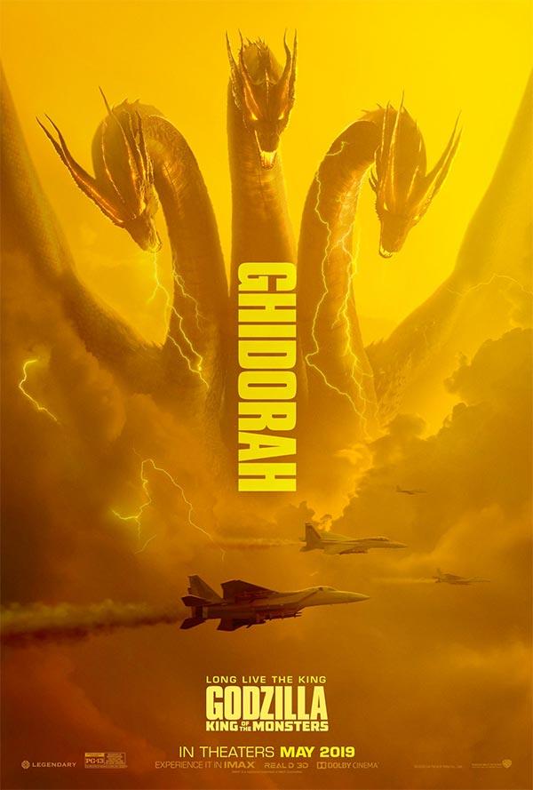 Godzilla - Ghidorah