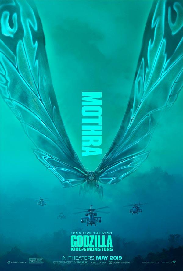 Godzilla - Mothra