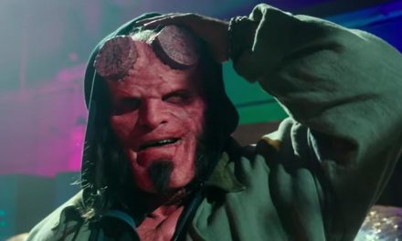 Get fired up for our first look at the new Hellboy
