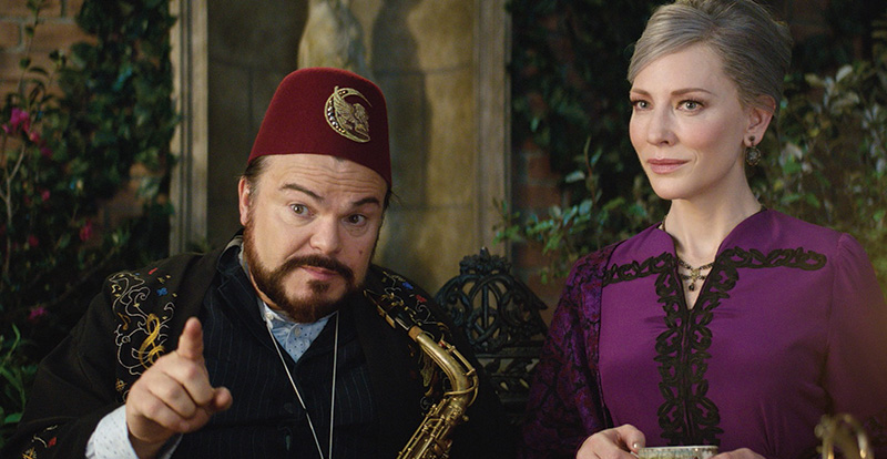 Interview with Cate Blanchett and Jack Black – The House with a Clock in Its Walls