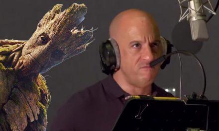 Behind the Marvel scenes – Vin Diesel is Groot!