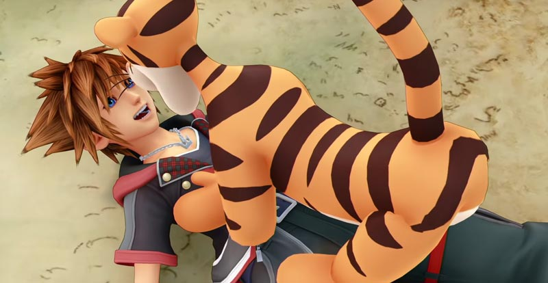 A new look at Kingdom Hearts III bounces in