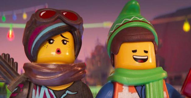 Happy holidays from The LEGO Movie 2
