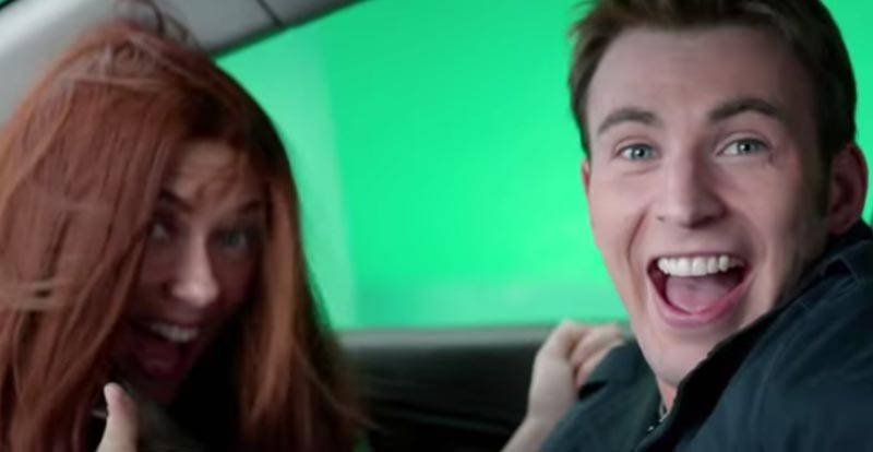 Marvel archives: Captain America: The Winter Soldier bloopers