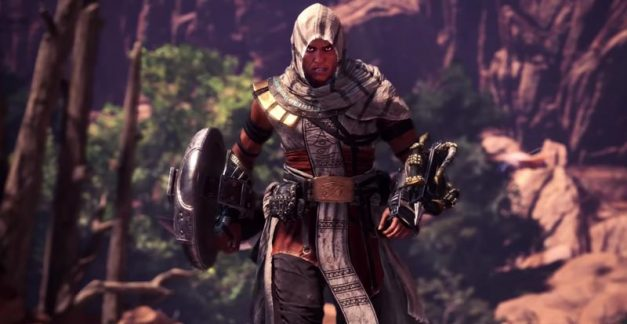 Assassin's Creed and Monster Hunter: World collide