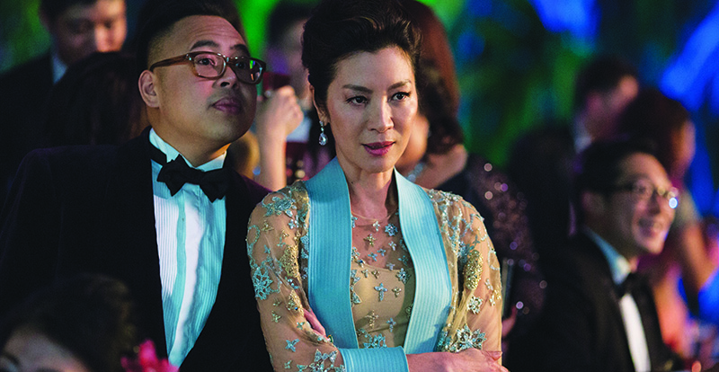 Interview with Michelle Yeoh – Crazy Rich Asians
