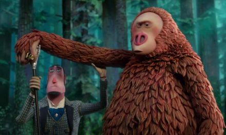 Zach Galifianakis is a primitive man in Missing Link