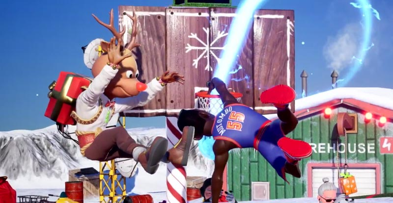 Chrissie (and Rodman, and Malone) comes to NBA 2K Playgrounds 2