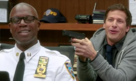 The Brooklyn Nine-Nine crew get their blooper on