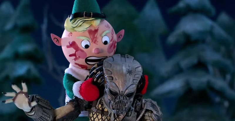Here it is, The Predator Holiday Special!