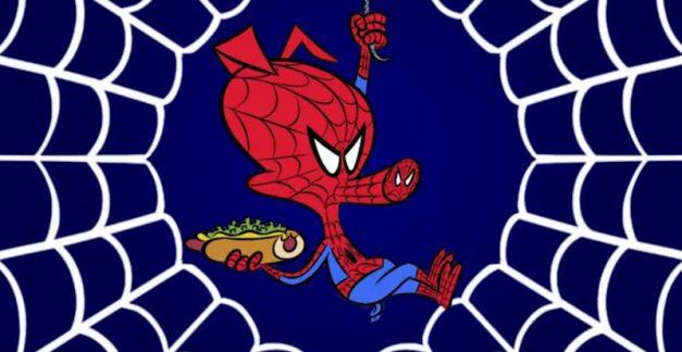 Spider-Ham, Spider-Ham, meet the Spider-Verse Spider-Ham
