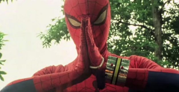 Enter the weird and wonderful web of Japanese Spider-Man