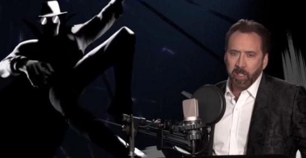 Watch the Spider-Man: Into the Spider-Verse voice cast working